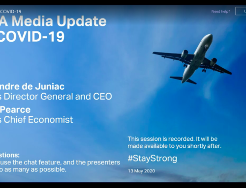 IATA Media Update on COVID-19 – 13 May