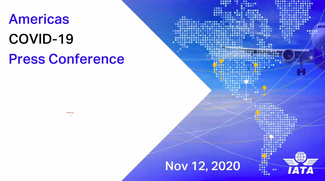 IATA Media Conference Call / Convocatoria de Prensa Virtual 12NOV20