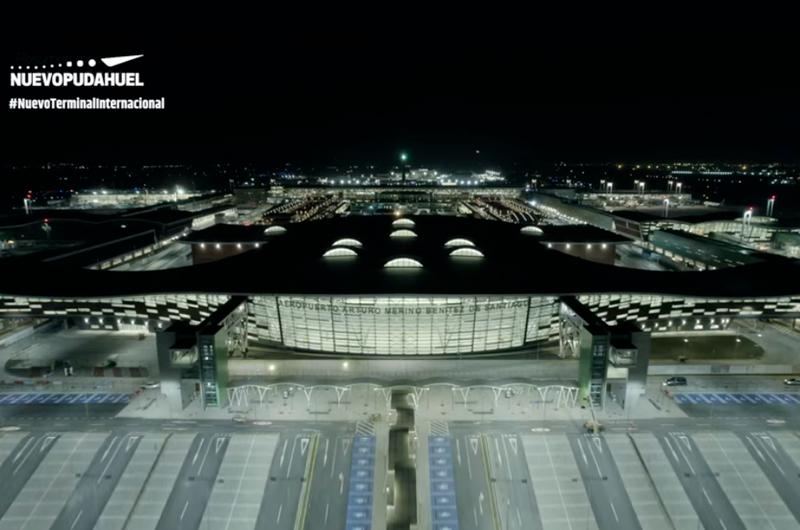 Tras 5 años de construcción y una inversión de 1.000 millones de dólares, la Terminal 2 del Aeropuerto de Santiago de Chile (SCL) ya está lista